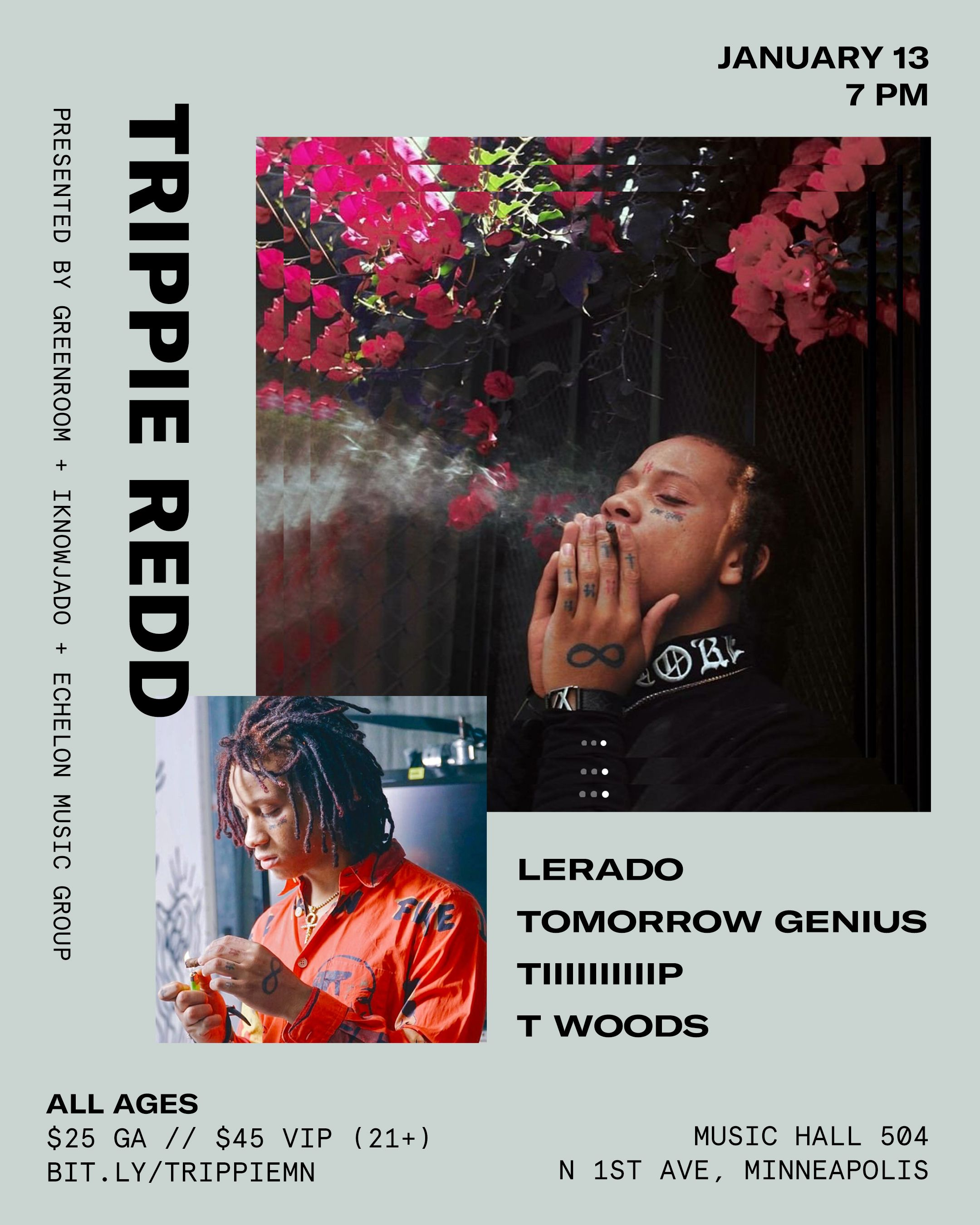 Design For Trippie Redd Poster By Lindsay St Clair Layoutdesign