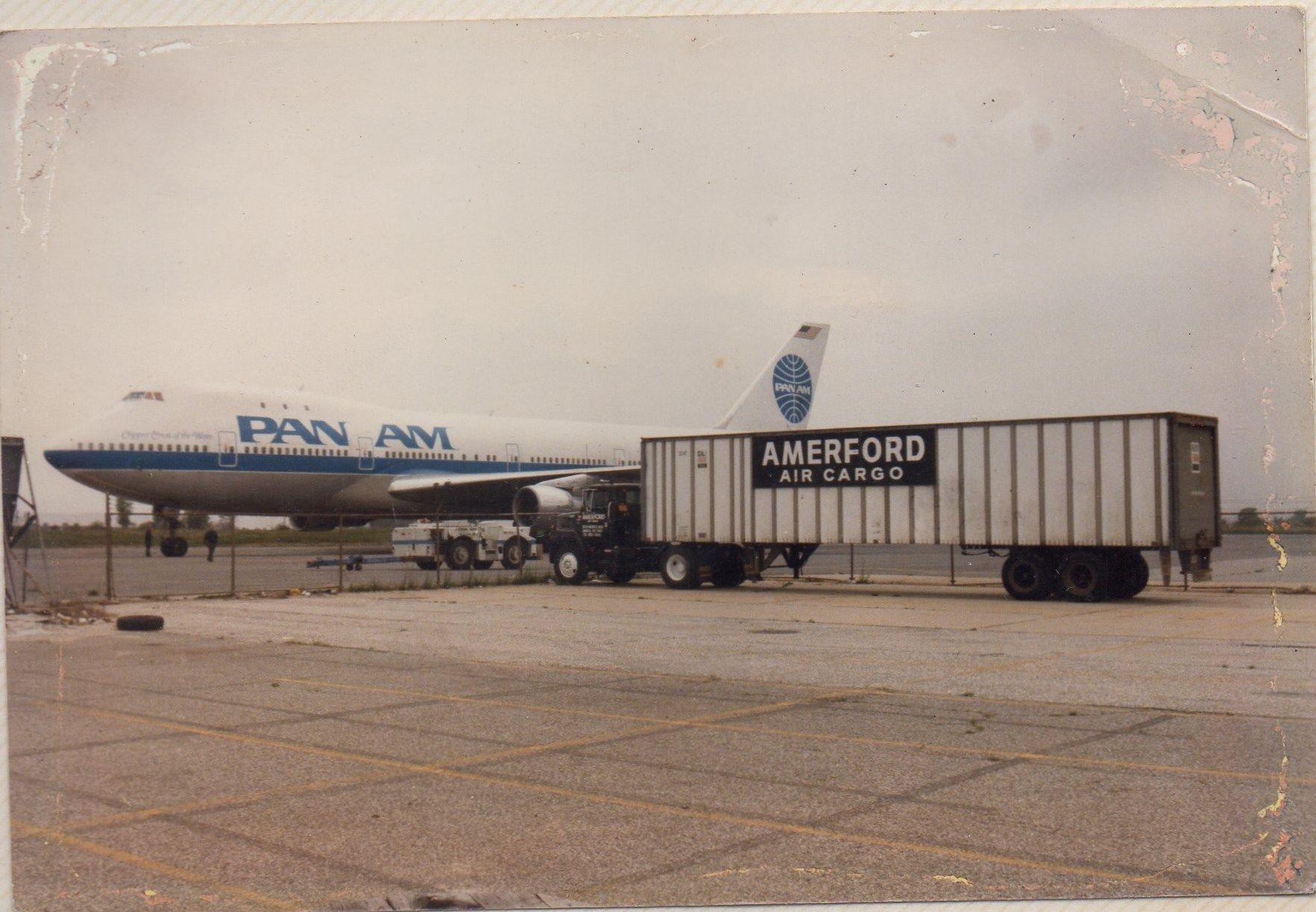 Kennedy Airport , Air cargo Teamster local 295 those