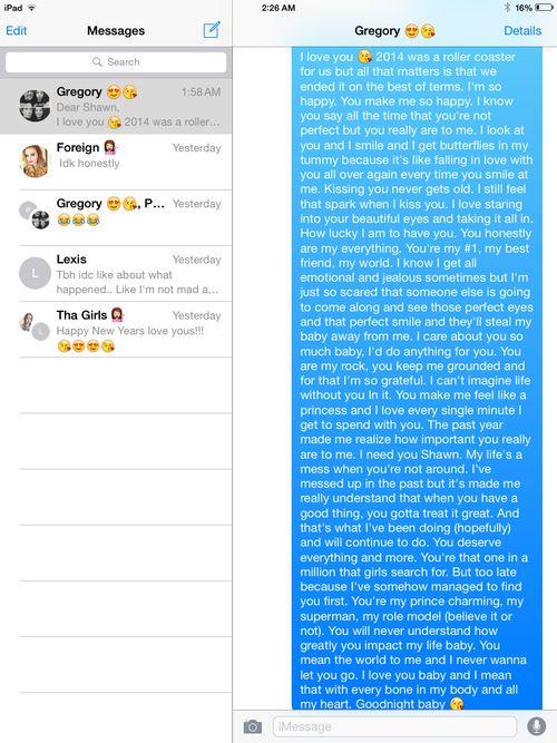 Long Goodnight Text Melts My Heart Itll Be Okay Pinterest