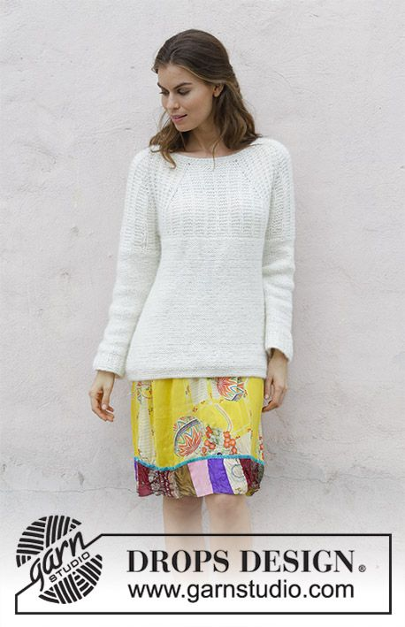 Sweet Pearl Free Sweater Knitting Pattern | All my favs | Pinterest ...