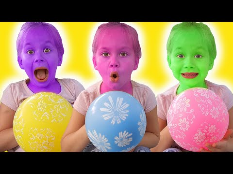 10 Pretends To Play With Her Magic Balloon Preschool Toddler Learn Color تعليم الالوان بالانجليزي Youtube Learning Colors Color Songs Toddler Learning