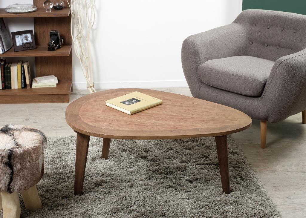 Table Basse En Teck Recycle Brosse Carree Drift Moyen Modele Table Basse Teck Table Basse Bois Table Basse