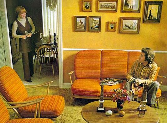 Homes In The Seventies | Home Decoration In 60S,70S (Interior
