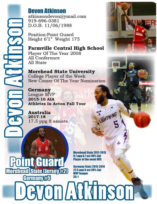 BasketballMen Sports Resumes & More! College