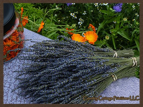Lavender Bunches/ and primitives....cool shopping site