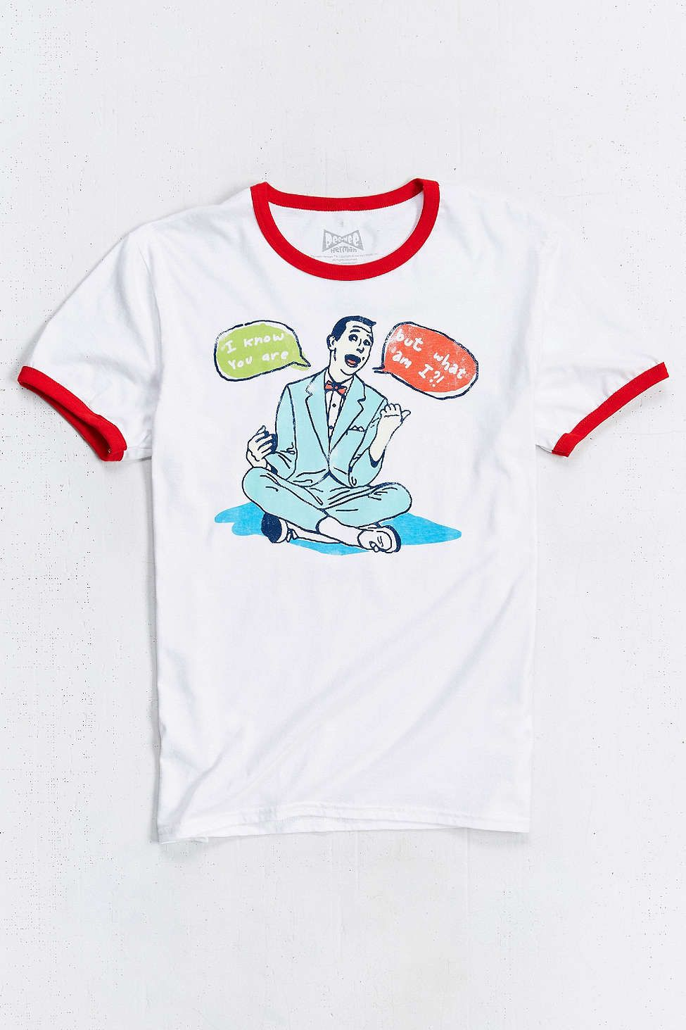 Pee-wee I Know You Are Ringer Tee