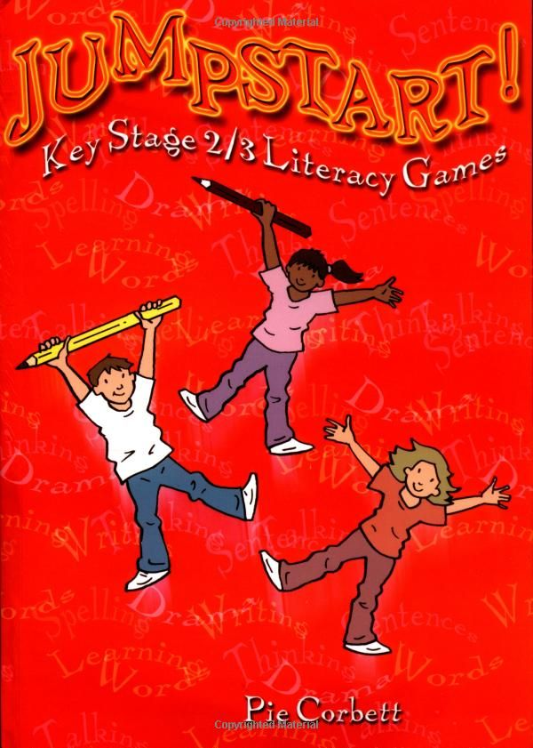 Jumpstart! Literacy - Games and Activities for Ages 7-14 Pie Corbett  Go to http://www.primaryenglished.co.uk/index.php/looking-for-a-big-resource-in-a-small-book/ for why we selected this resource...