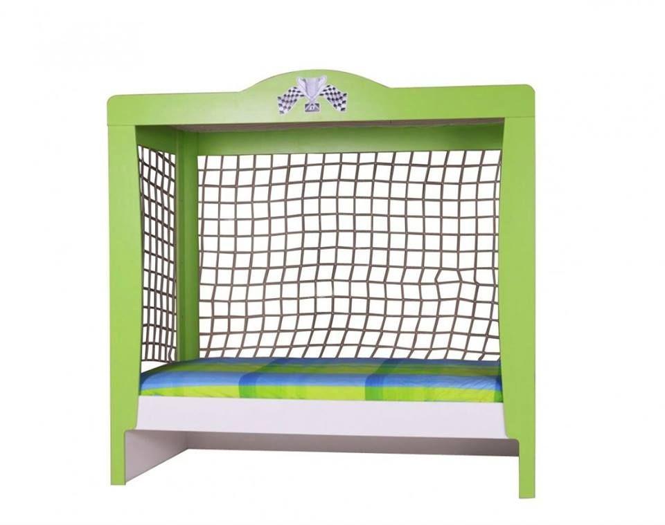 ⚽ Cooles Fußballbett - gestaltet wie ein Tor | Fußballzimmer ...