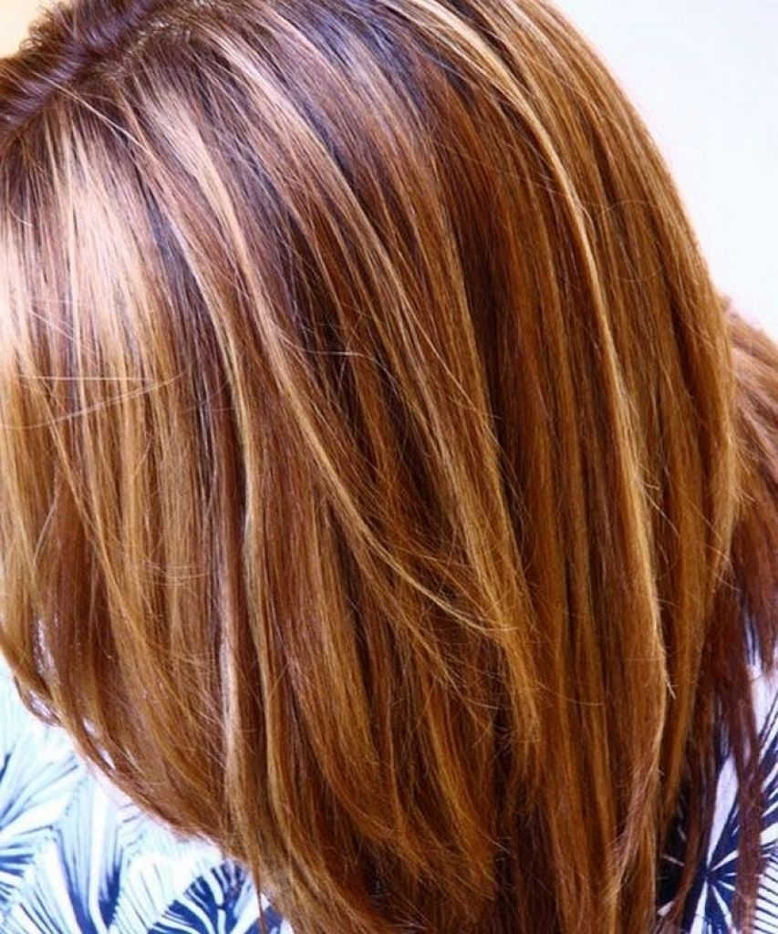 Red Hair Light Golden Brown