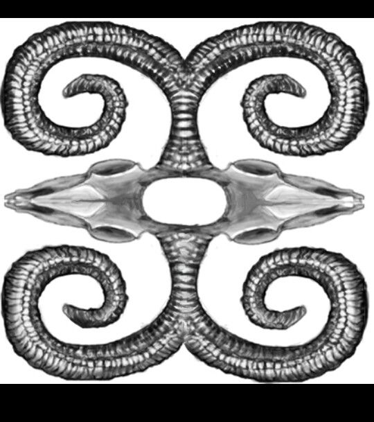 A Dwennemin A Celtic Symbol That Stands For Strength And Humility