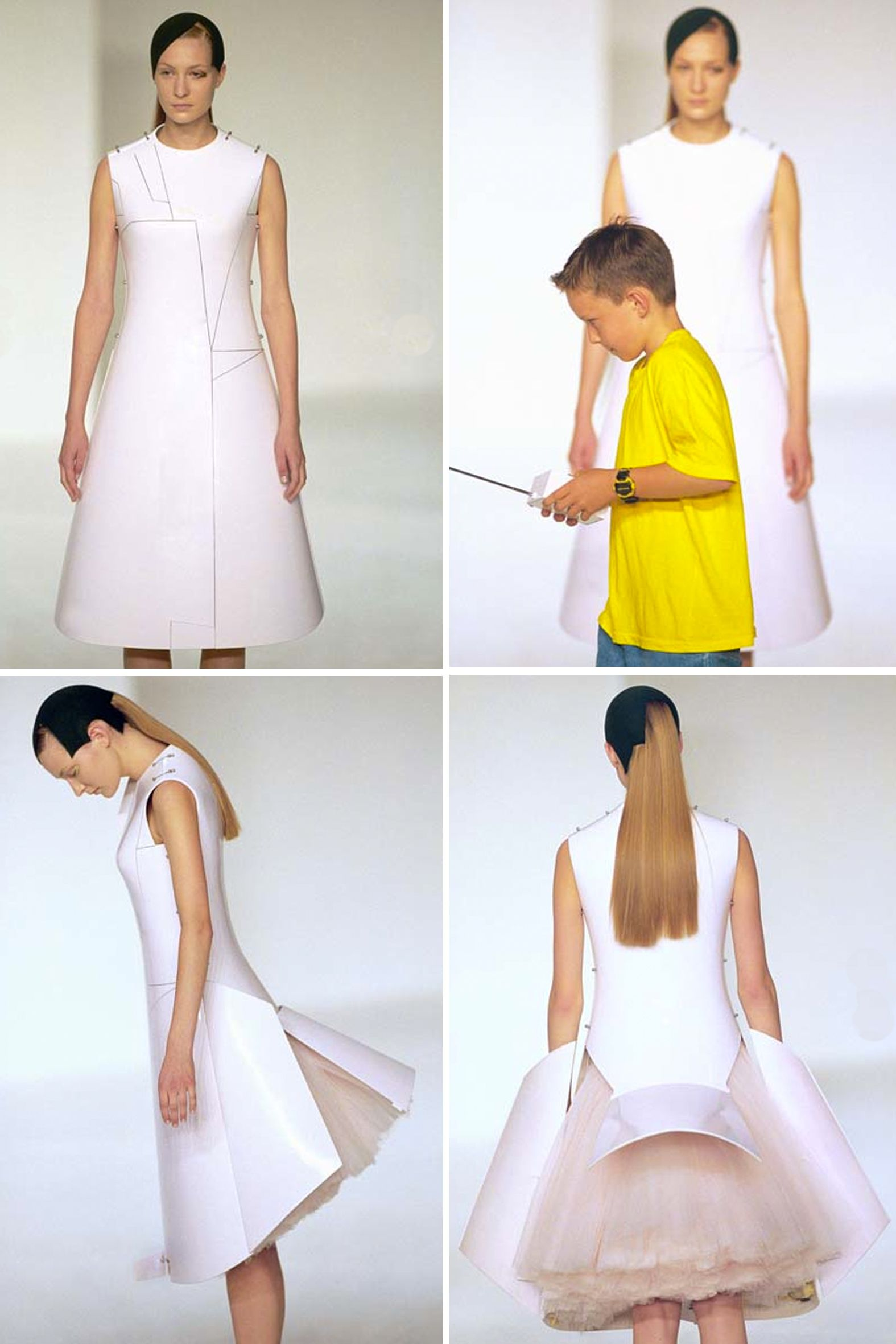222e16f131 Hussein Chalayan - Before Minus Now - The collection focuses on the  relationship between humans