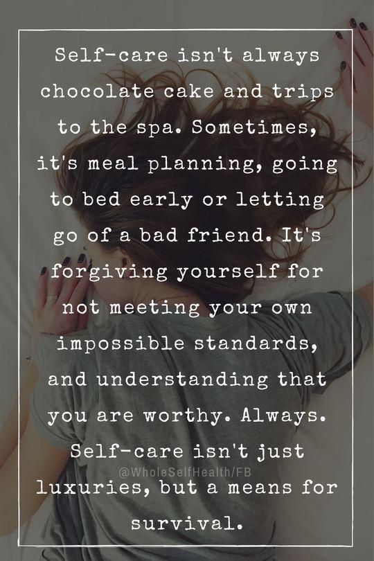 Self care Sunday