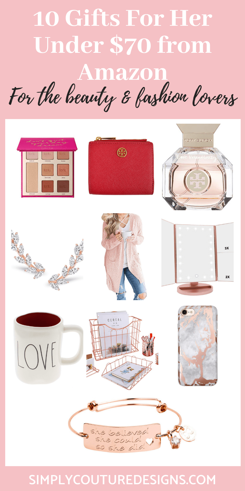10 Girly Gift Ideas For Her That You Can Find At Amazon