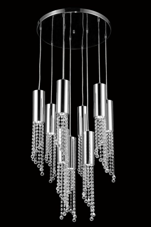 Elegant Lighting - 2057 Niagara Collection Pendant lamp D:21\