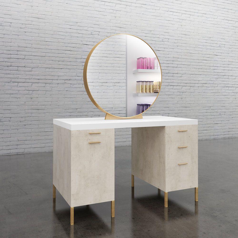 Salon Stations Round Mirror Hairsalon Station Hairstylist Furniture Repost By The New Era Group We Grow Our Bus Salon Stations Styling Stations Salon Decor