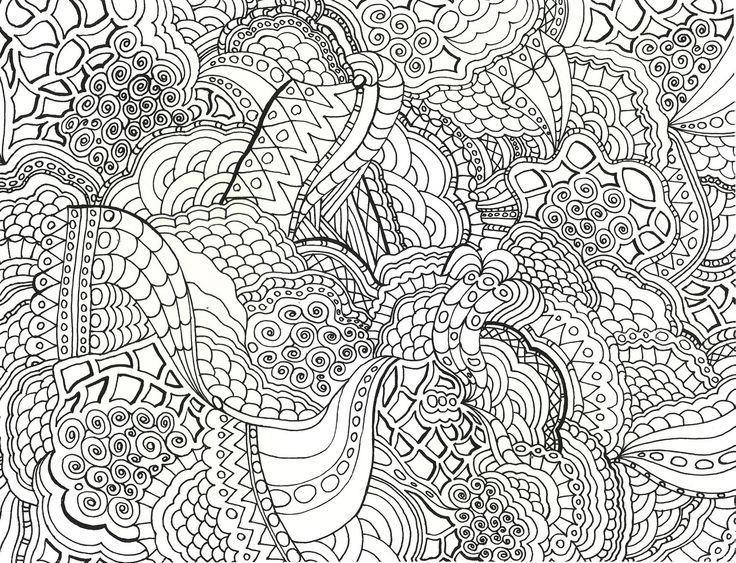 intricate mandala coloring pages free - photo#35