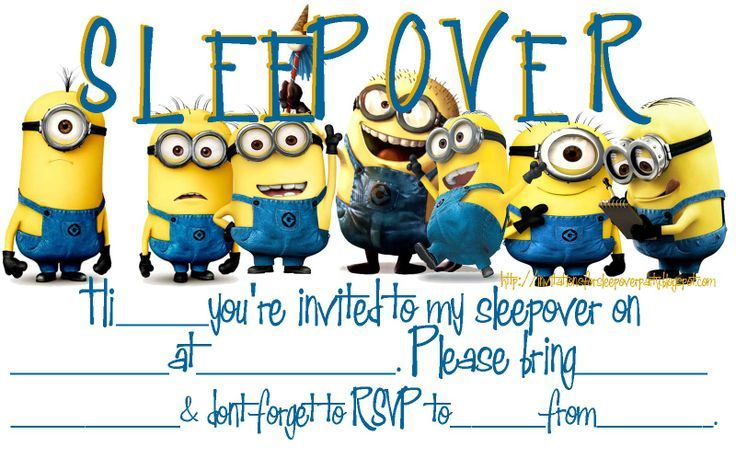 Printable Birthday Invitations Teenage Boys Free Printable Minion