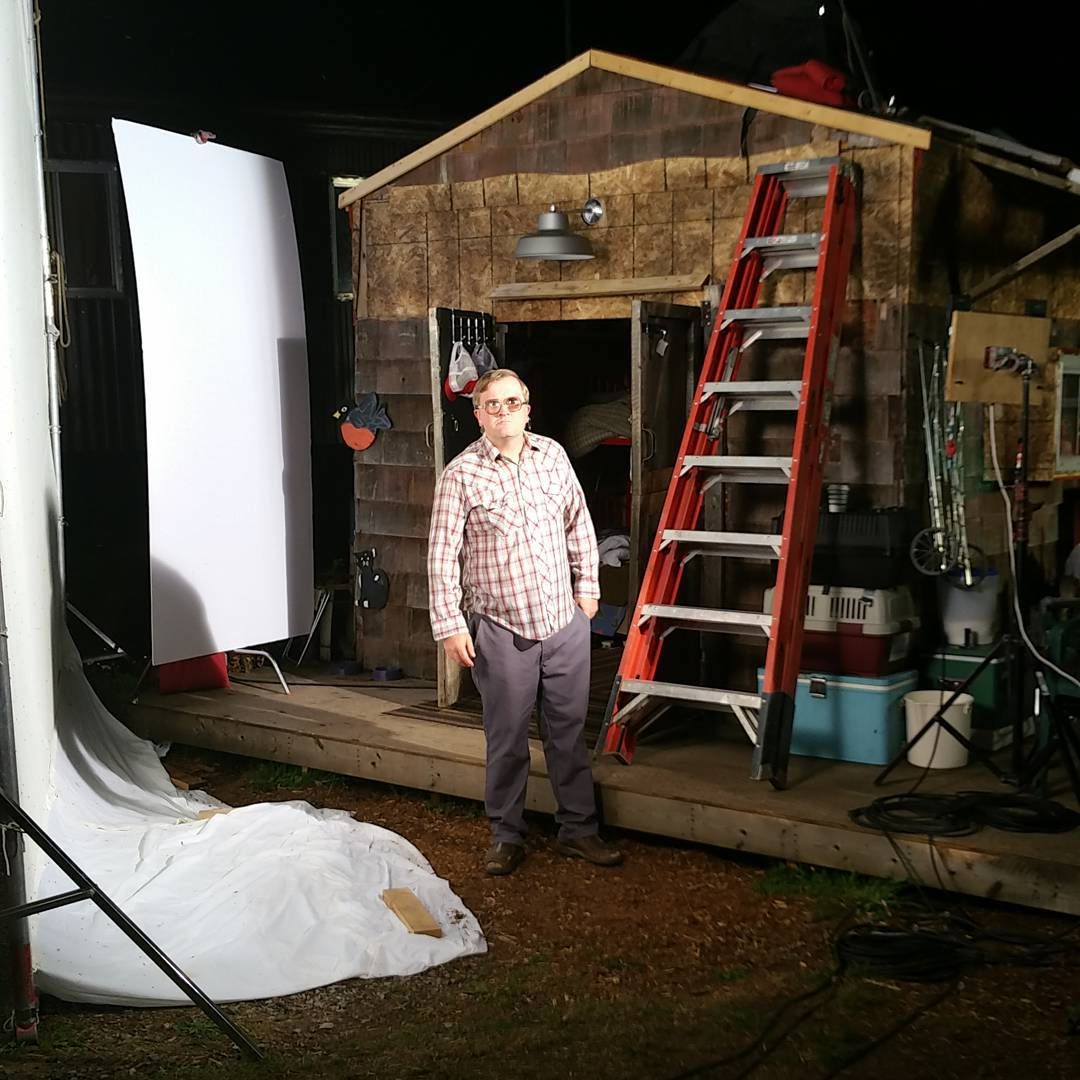 Night shoot with Bubbles and his shed in Sunnyvale TPB10 Bubbles