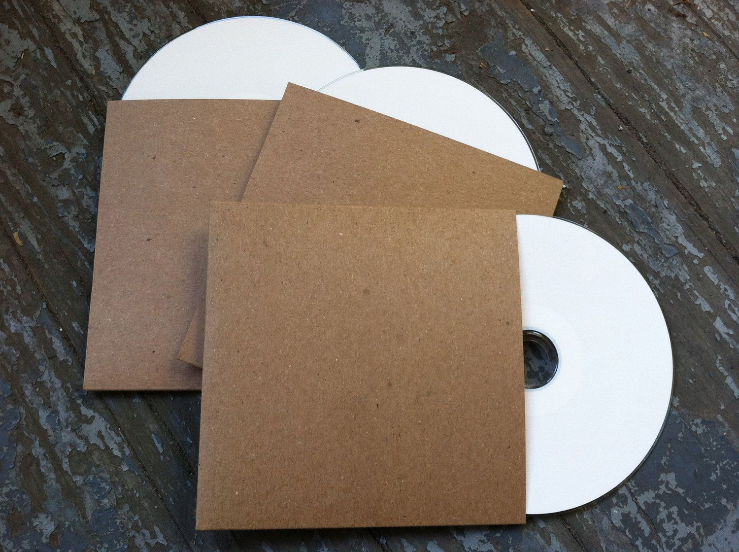 100 Blank Cd Sleeves Cases Packaging For Bands Photographers Wedding