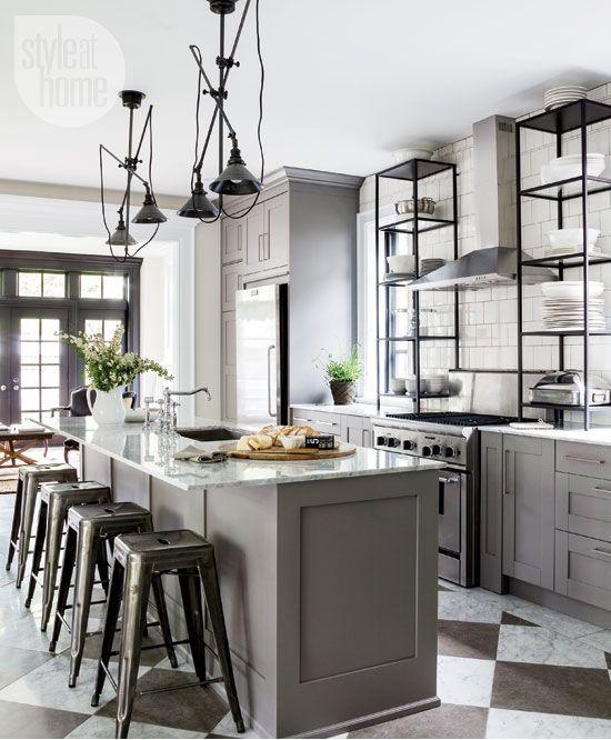 Great Kitchen. Industrial Style KitchenIndustrial ChicFrench ...