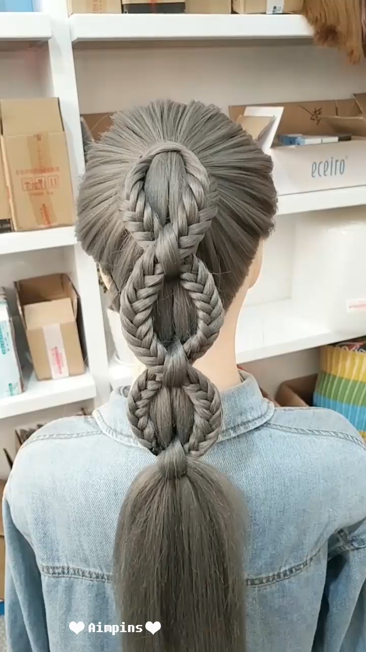 Long Hair Hairstyles For Girl  | Hairstyles Tutorials Compilation 2019 | Part 123