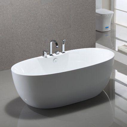 Standarmatur Für Freistehende Badewanne freistehende badewanne kiel 170x80cm sanitäracryl weiß modern