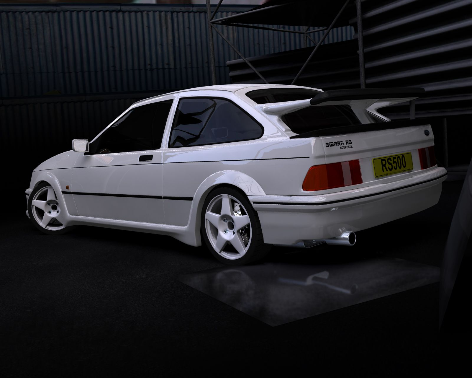 Ford Sierra Cosworth Rs500 The Shiznitt Back In Da Day Ford