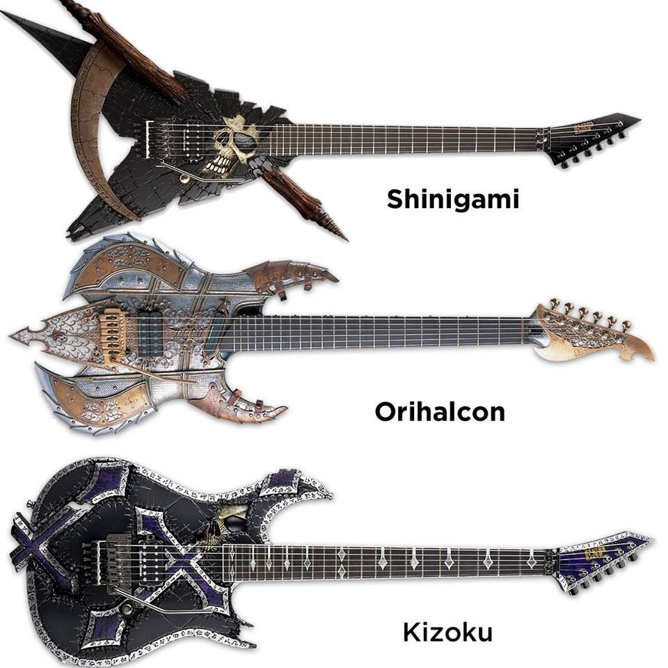 esp custom shop guitars the orihalcon is off the scale i would write the deadliest heavy metal. Black Bedroom Furniture Sets. Home Design Ideas