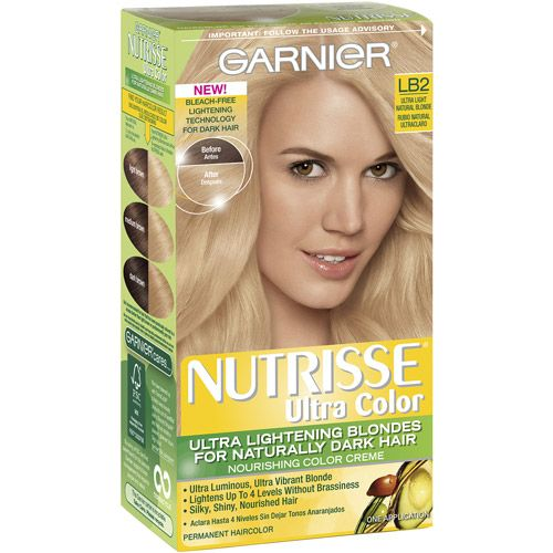 Beauty Blonde Hair At Home Garnier Hair Color Nourishing Hair
