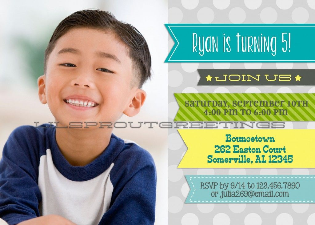 Boy Birthday Invitations To Inspire You On How To Create Your Own