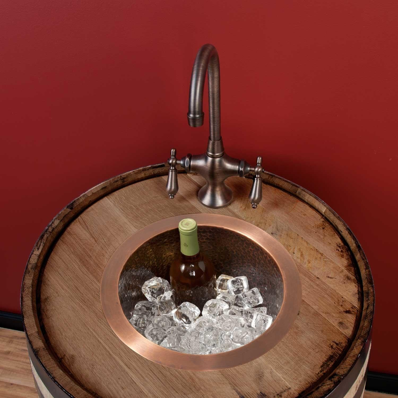 12   creed extra deep hammered copper bar sink 12   creed extra deep hammered copper bar sink   copper bar bar      rh   pinterest com