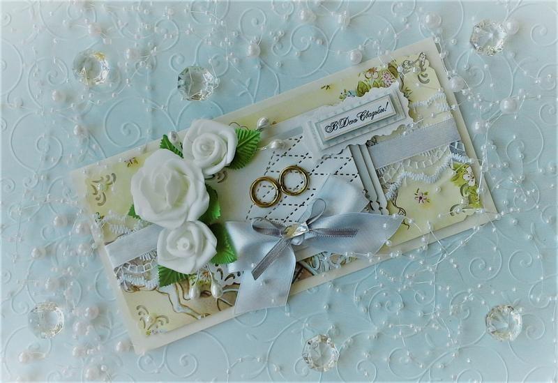 Авторская свадебная открытка