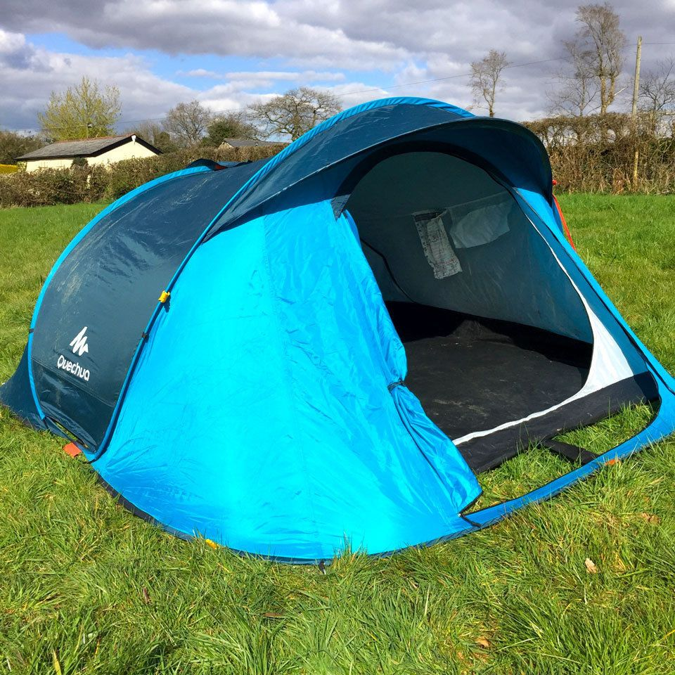 797de33afa0 Quechua 2 Seconds 3 Man Easy Popup (Pop up) Tent- Camping   Festivals in  Sporting Goods