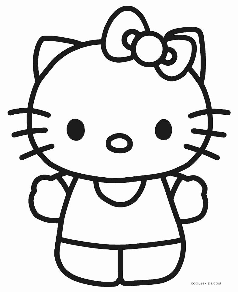 Hello Kitty Coloring Pages Printable Elegant Free Printable Hello Kitty Coloring Pages For Page Hello Kitty Coloring Hello Kitty Colouring Pages Kitty Coloring