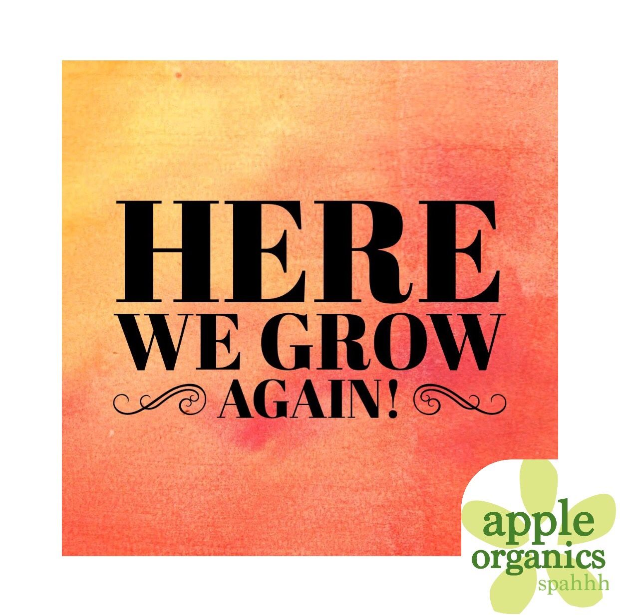 Apple Organics Spahh Is Growing And We Are Looking For Like Minded Holistic Estheticians Massage Health And Wellness Coach Massage Tips Therapeutic Massage