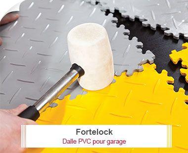 Fortelock   Dalle PVC Pour Garage