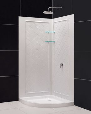 Small Shower To Convert The Half Bath To A Full Half Bath Remodel Bathroom Design Inspiration Powder Room Remodel