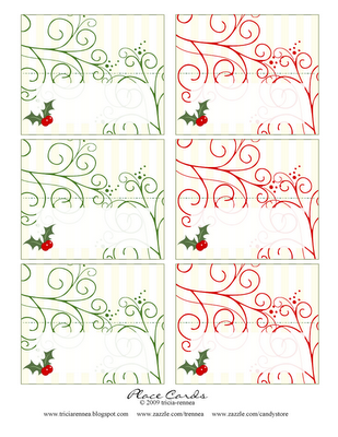Christmas Place Cards Christmas Place Cards Free Christmas Printables Printable Place Cards