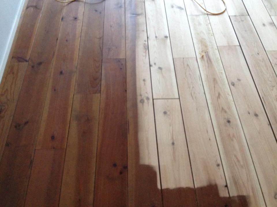 Vloer renovatie bolsward reparatie schuren mat aflakken
