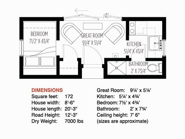 Tumbleweed Tiny House Floor Plans: Tumbleweed Tiny House Company - I Want To