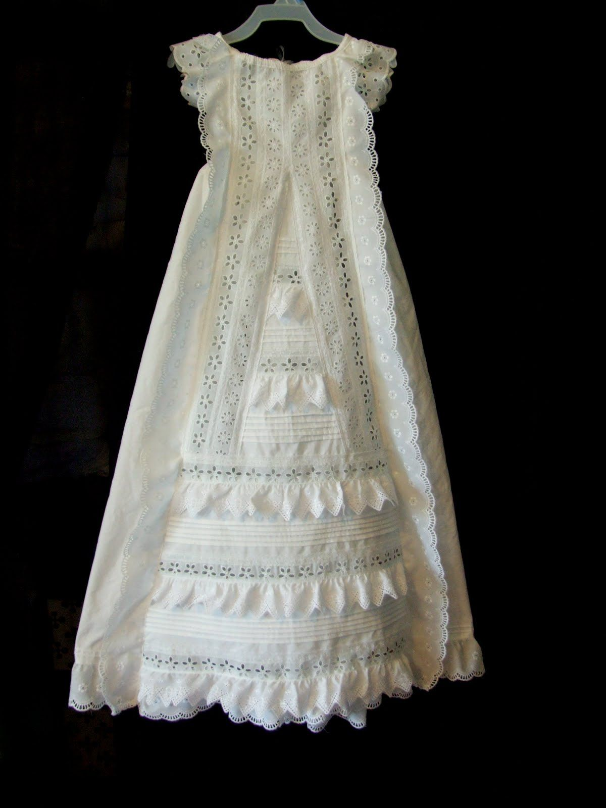 Antique reproduction. Christening Gown. | Baby Gowns I\'ve Made ...