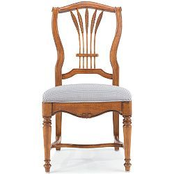 Drexel Heritage Accents Francais Wheat Back Side Chair Lexington Furniture Company Perfect For A French Country Ki Furniture Lexington Furniture Side Chairs