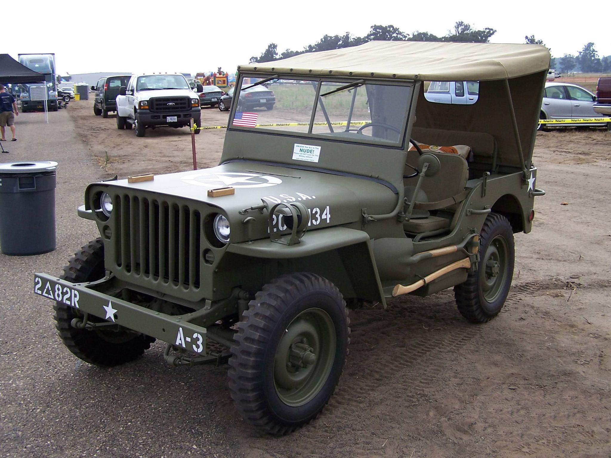 1943 Ford Gpw Jeep 4x4 2048x1536 Jeep Willys Jeep Classic Jeeps