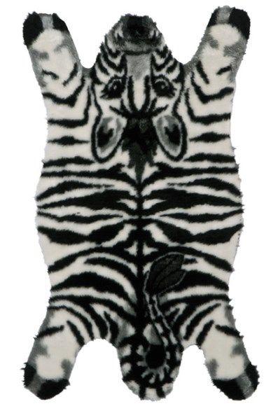 Alfombra infantil cebra bonita y divertida alfombra - Alfombras de cebra ...