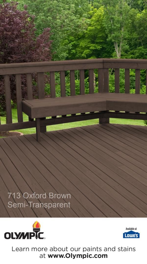 713 Oxford Brown Is A Part Of The Olympic Stains Semi Transpa Collection