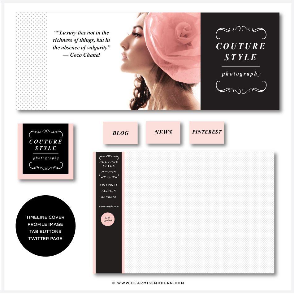 Couture Social Media | New Dear Miss Modern Shop