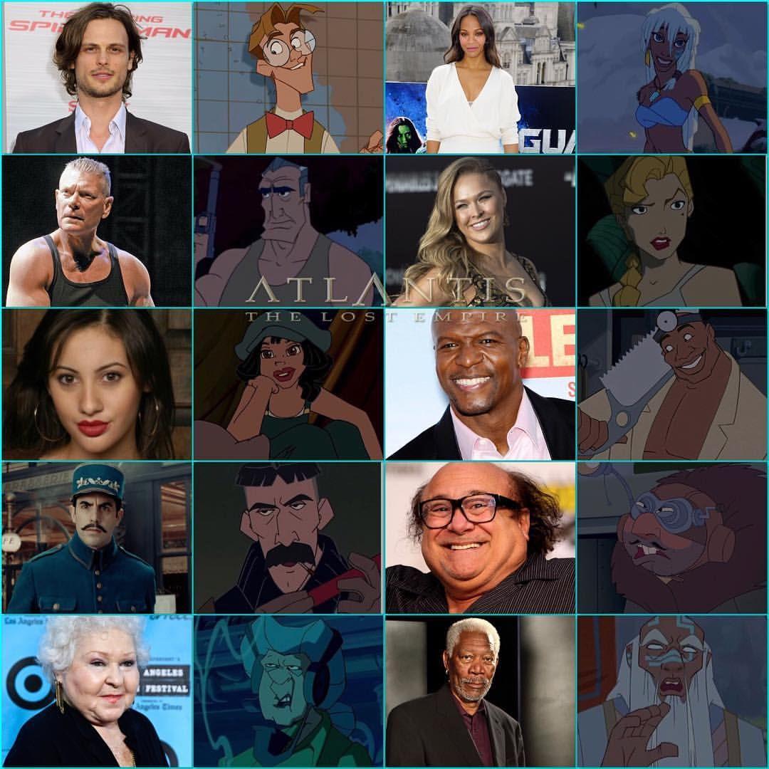 Atlantis Live Action Cast With Images Little Mermaid Cast