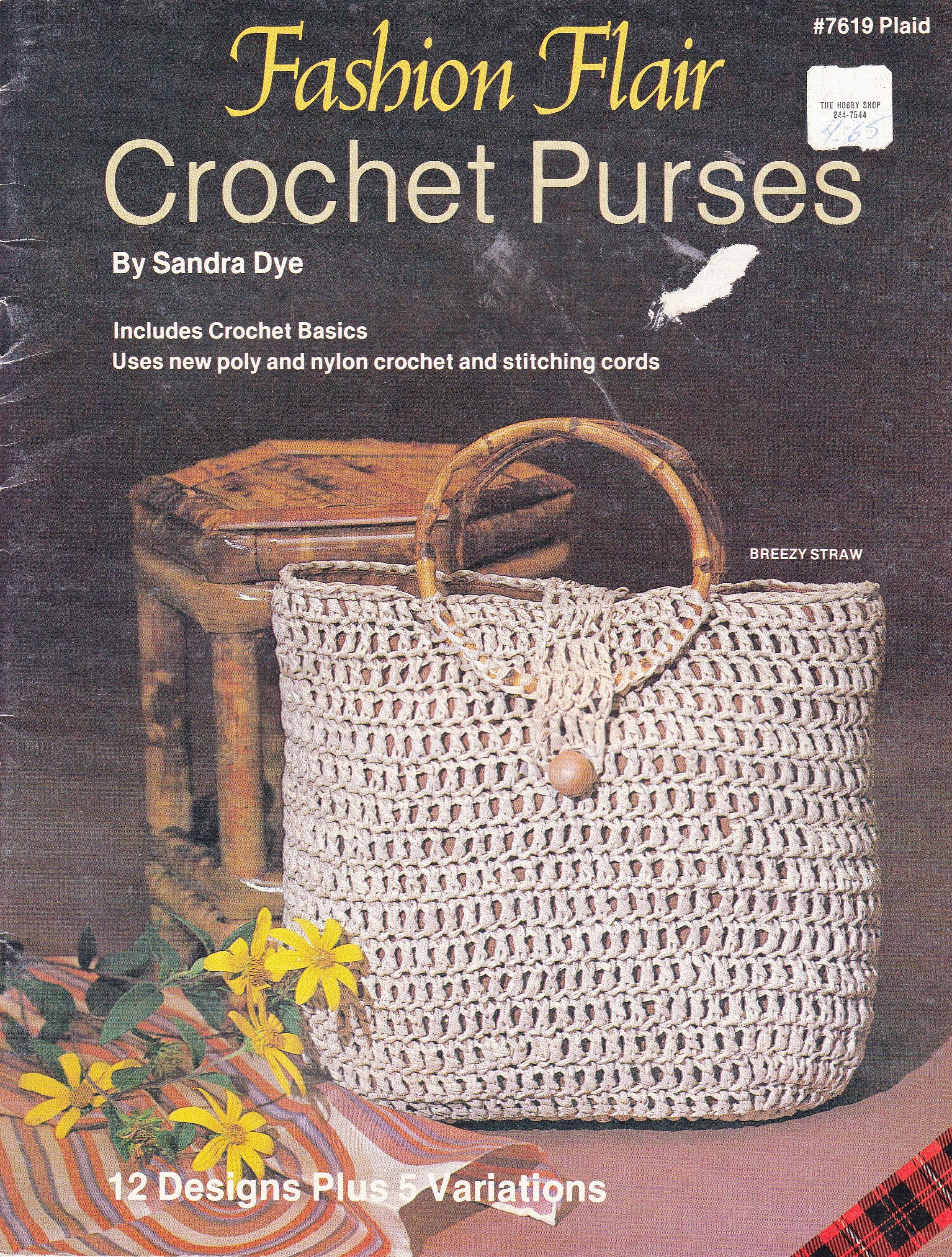 Fashion Flair Crochet Purses Patterns, 12 Purse and Clutch Crochet Patterns  and 5 Variations, Includes the How To Crochet Basics, by OnceUponAnHeirloom  on ...