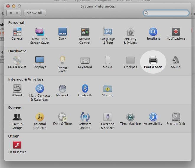 how do i install a printer on my macbook air