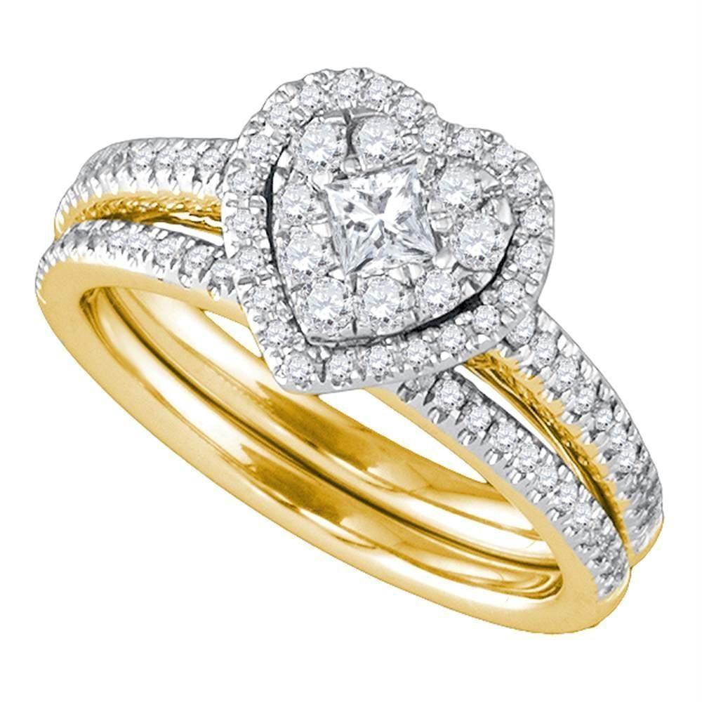 23+ Princess cut wedding rings yellow gold info